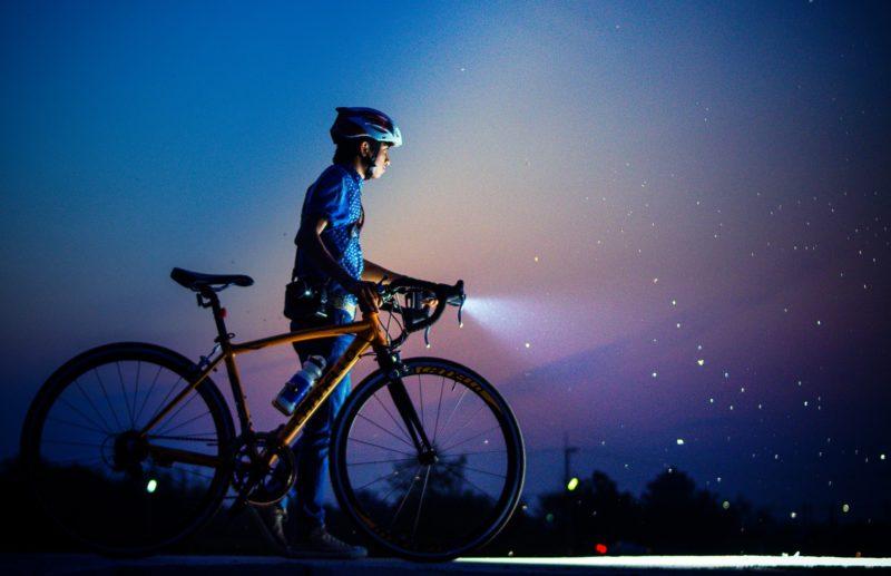 ロードバイクのライト