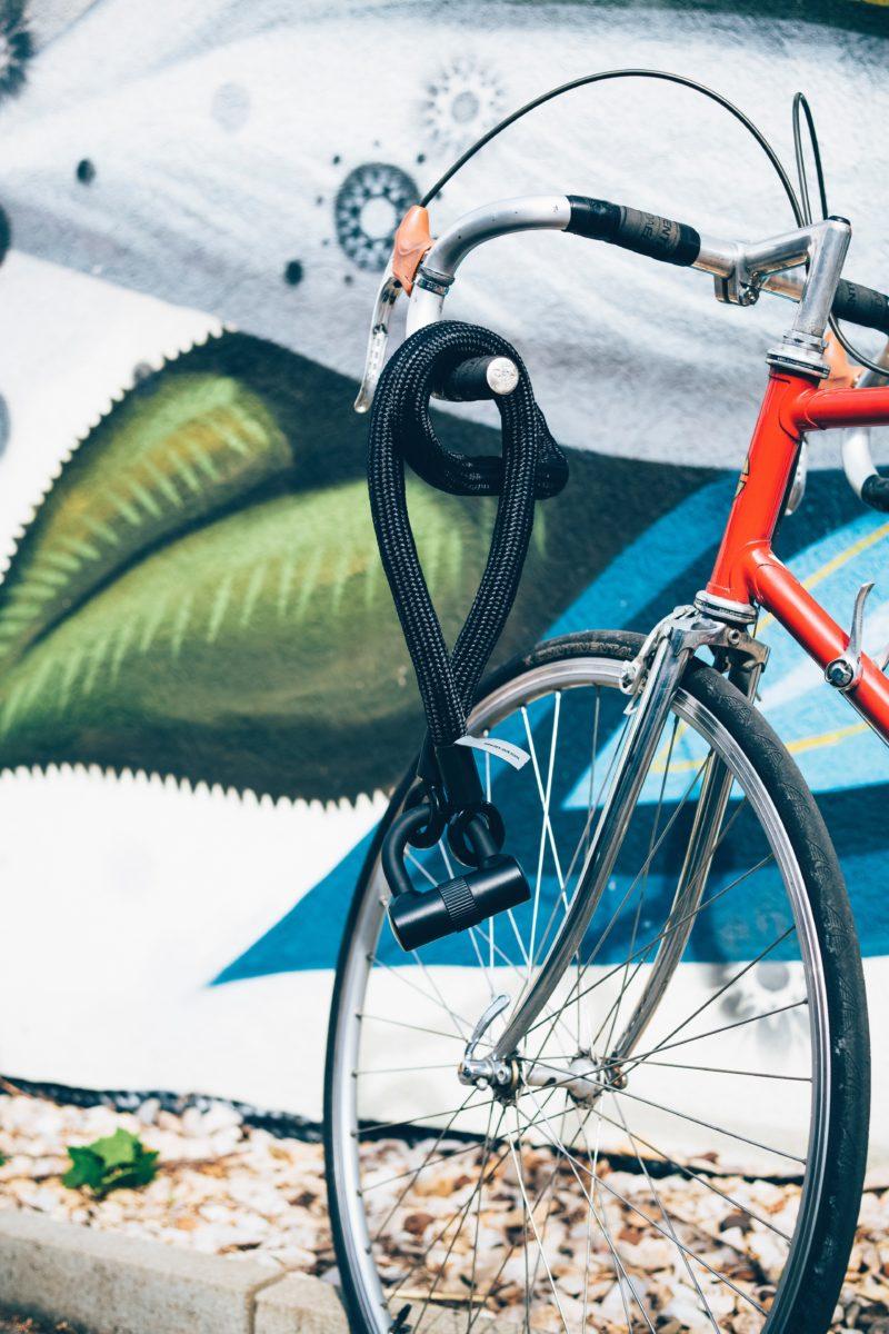 ロードバイク用のカギ-