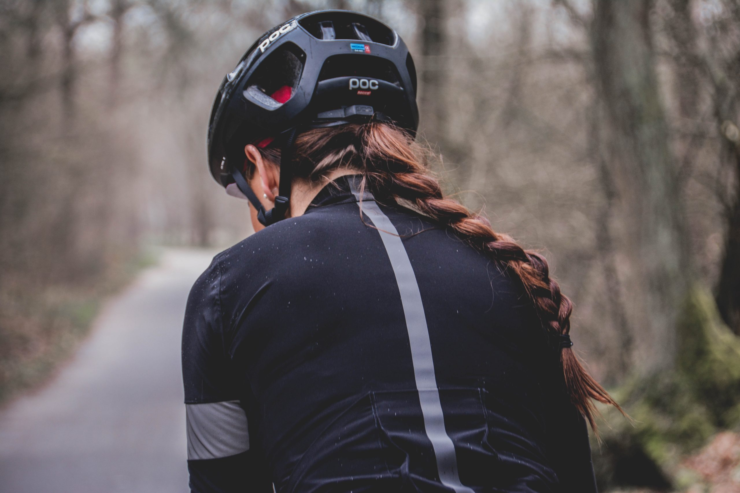 ロードバイクのヘルメット